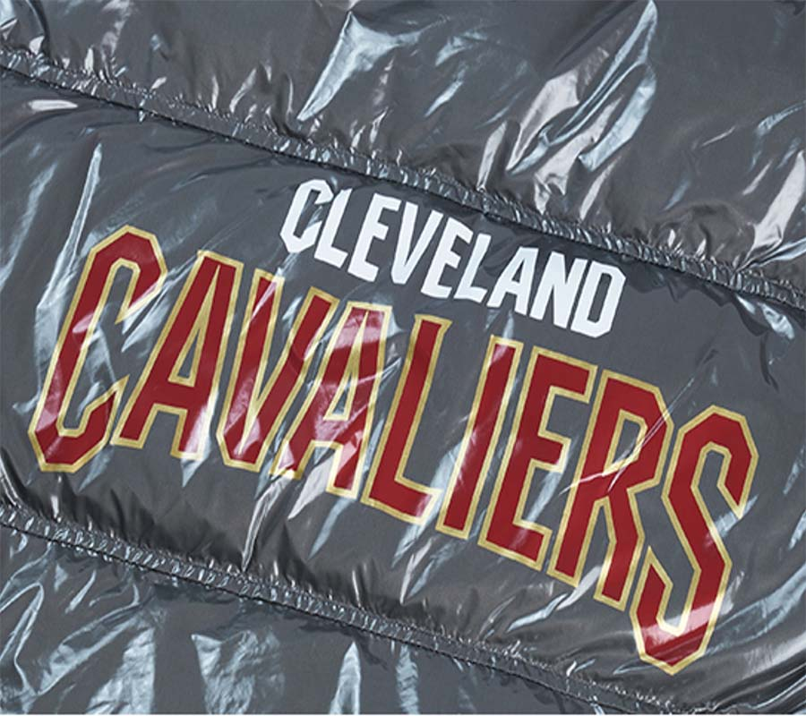 2020 Cleveland Cavaliers down jacket 5