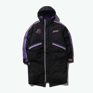 2020 Los Angeles Lakers Black Down Jacket Unisex 1