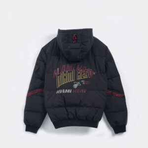 2020 Miami Heat Down Jacket Mens 2