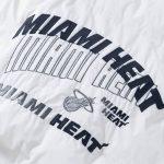 2020 Miami Heat White Down Jacket Womens 5