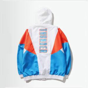 2020 Oklahoma City Thunder sports jacket Womens 2