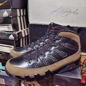 Air Jordan 9 Retro Olive 2012 1