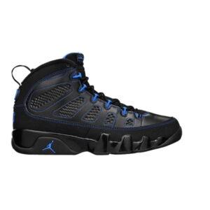 Air Jordan 9 Retro Photo Blue Black Bottom B Grade