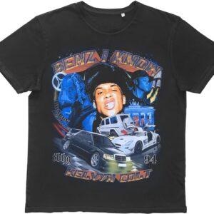Casper Masi x Kelvyn Colt Benz I Know T Shirt Black