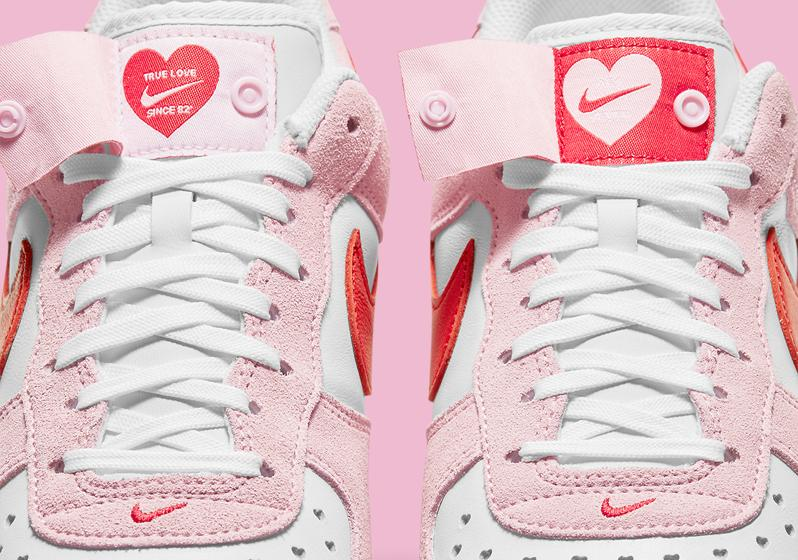 Nike Air Force 1 ko Dnyu svyatogo Valentina 2021