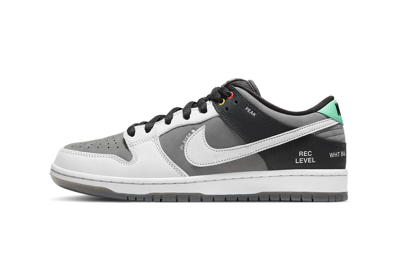 Nike opublikoval ofitsialnye izobrazheniya SB Dunk Low VX1000 Camcorder