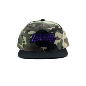 Tiger Camo Snapback HWC Los Angeles Lakers 1