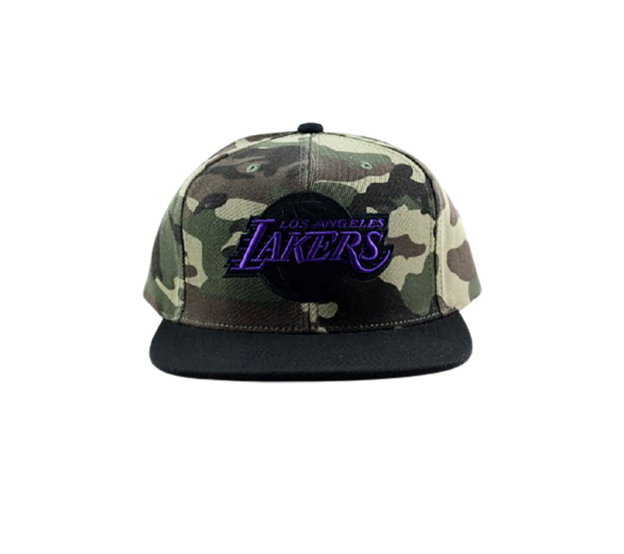 Tiger Camo Snapback HWC Los Angeles Lakers 1