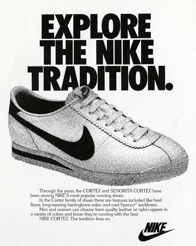 Tochki istorii 45 let Nike Cortez. Kak eto bylo 1