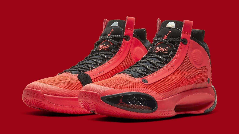 air jordan 34 xxxiv infrared ar3240 600 pair