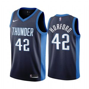al horford thunder 2020 21 earned edition navy jersey