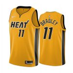 avery bradley heat 2020 21 earned edition yellow jersey