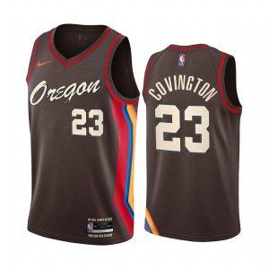 blazers robert covington chocolate city edition 2020 trade jersey 1