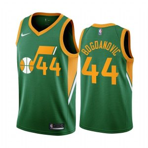 bojan bogdanovic jazz 2020 21 earned edition green jersey