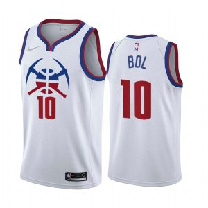 bol bol nuggets 2020 21 earned edition white jersey