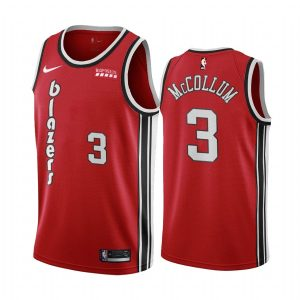 c.j. mccollum red classic edition jersey 1