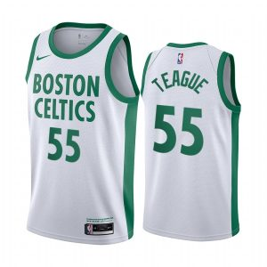celtics jeff teague white city 2020 trade jersey