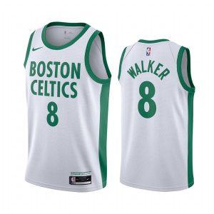 celtics kemba walker white city edition new uniform jersey