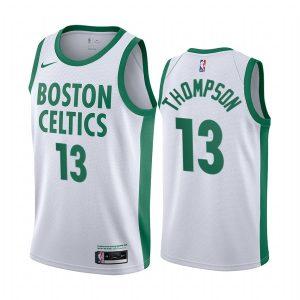 celtics tristan thompson white city 2020 trade jersey