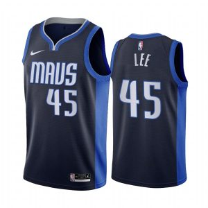 courtney lee mavericks 2020 21 earned edition navy jersey