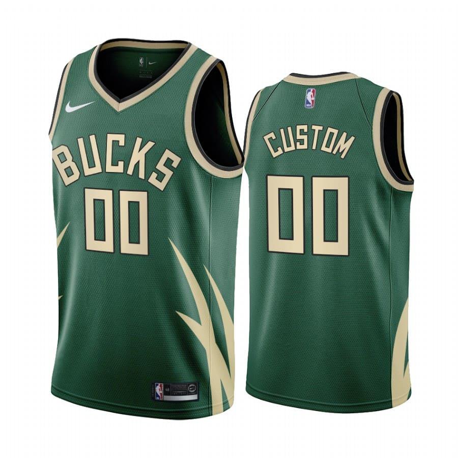 custom bucks 2020 21 earned edition green jersey
