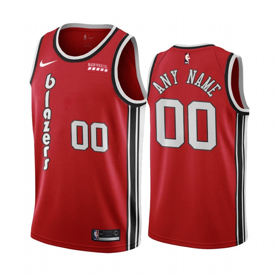 custom red classic edition jersey 1