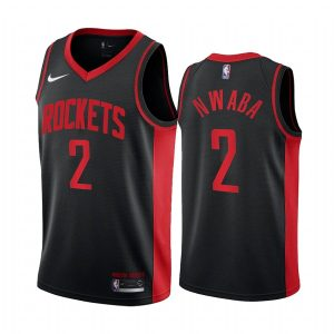 david nwaba rockets 2020 21 earned edition black jersey
