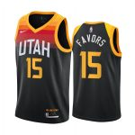 derrick favors jazz black city 2020 21 jersey 1