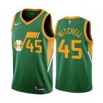 donovan mitchell jazz 2020 21 earned edition green jersey