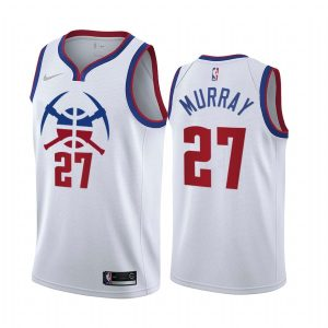 jamal murray nuggets 2020 21 earned edition white jersey