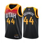 jazz bojan bogdanovic black city new uniform jersey 1