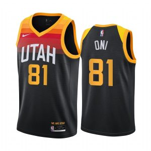 jazz miye oni black city new uniform jersey 1