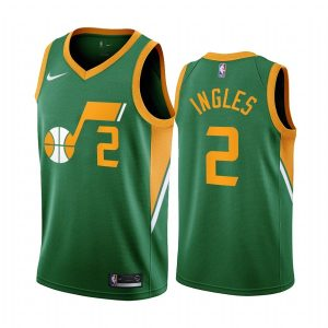 joe ingles jazz 2020 21 earned edition green jersey
