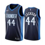 justin jackson thunder 2020 21 earned edition navy jersey