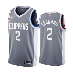 kawhi leonard clippers 2020 21 earned edition gray jersey