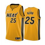 kendrick nunn heat 2020 21 earned edition yellow jersey