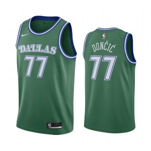 luka doncic mavericks green 2020 classic edition original 1980 jersey 1