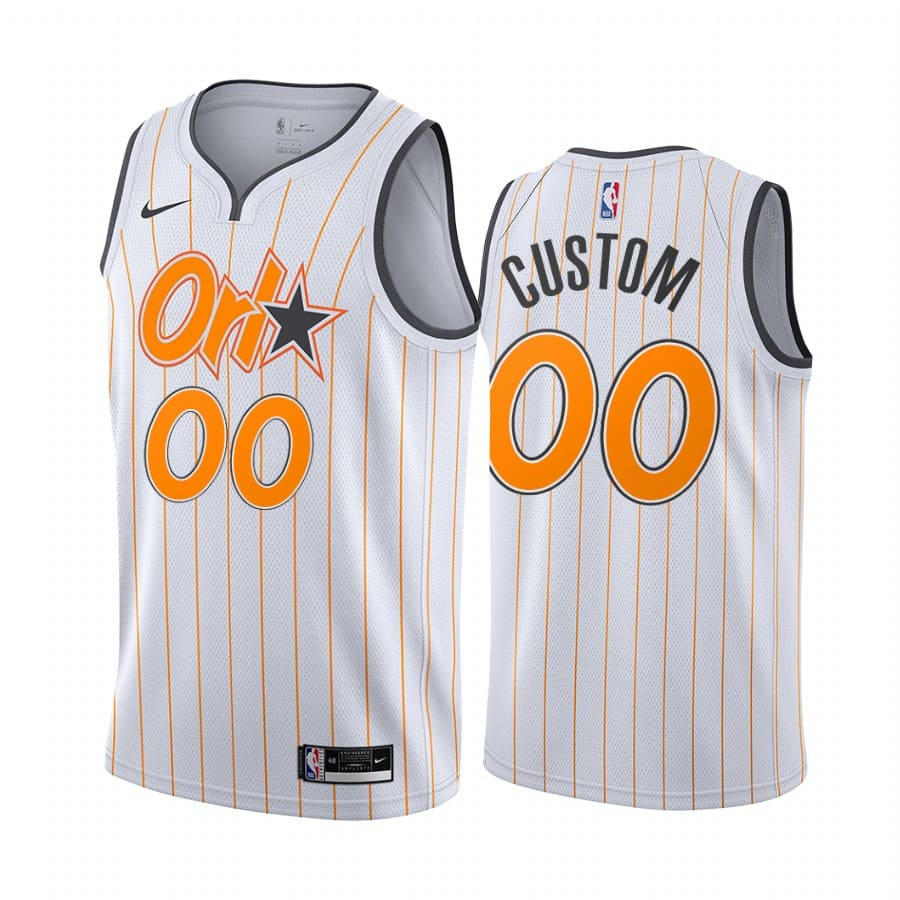 magic custom white city edition new uniform jersey 1