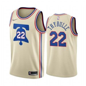 matisse thybulle 76ers 2020 21 earned edition cream jersey