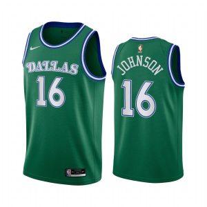 mavericks james johnson green city 2020 trade jersey 1