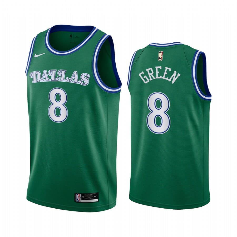 mavericks josh green green classic 2020 nba draft jersey 1