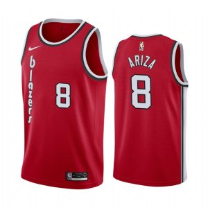 mens trevor ariza red classic jersey 1