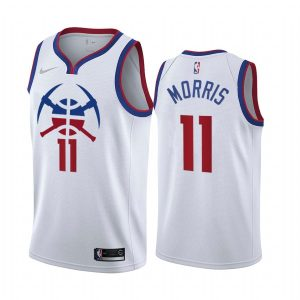 monte morris nuggets 2020 21 earned edition white jersey