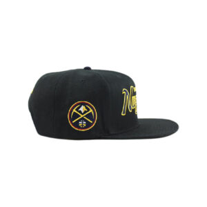 nba cap denver nuggets side