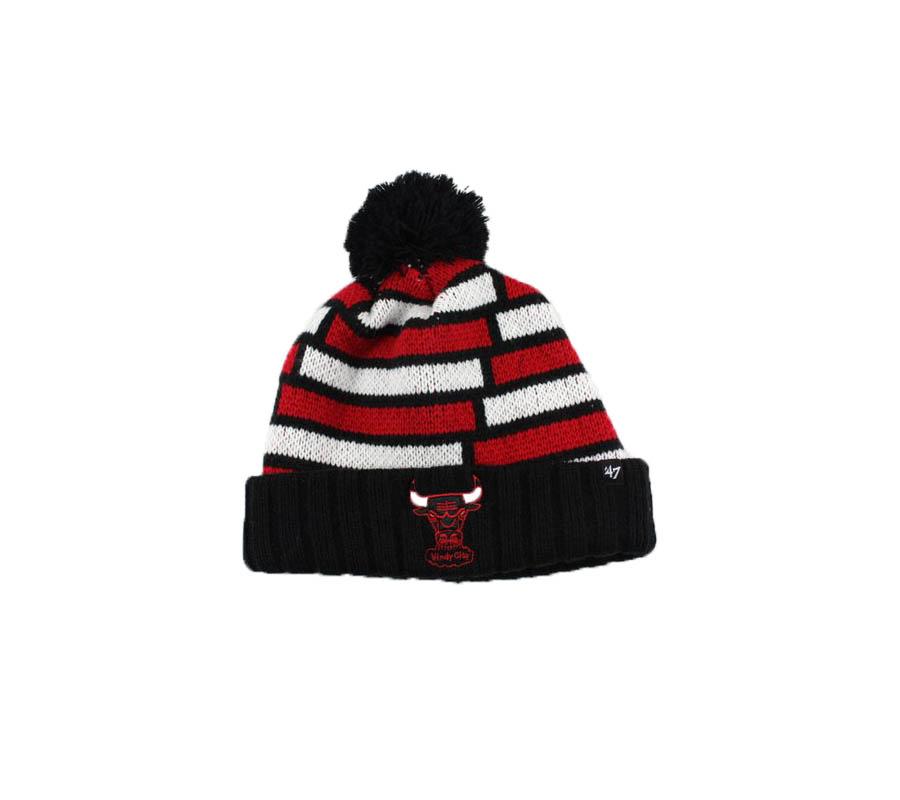 nba hat chicago bulls red white black 47brand 2019