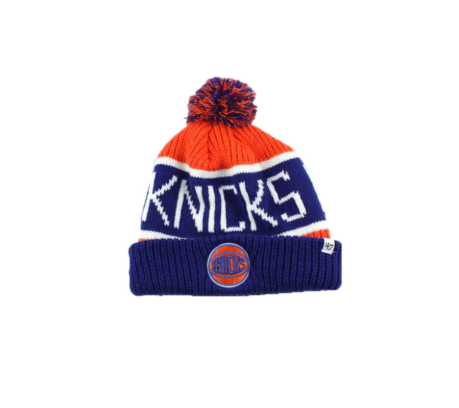 nba hat knicks orange 47brand 2019