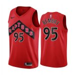raptors deandre bembry red icon jersey