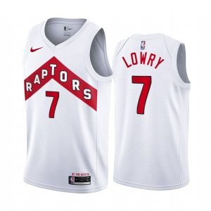 raptors kyle lowry white association edition jersey