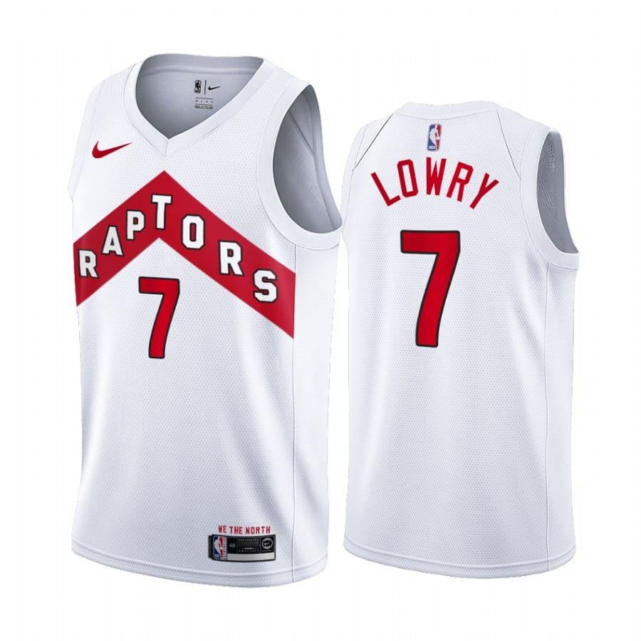 raptors kyle lowry white association edition jersey