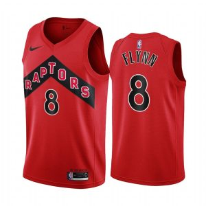 raptors malachi flynn red icon 2020 nba draft jersey